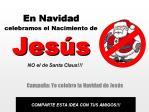 Yo celebro la Navidad de Jesú